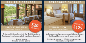 Day or Overnighter Bus Tour Group Packages
